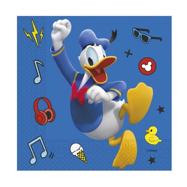 Serviettes en papier Donald Disney
