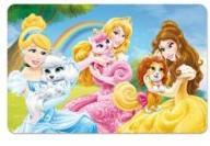 Set de table 3D Princesses Disney pas cher