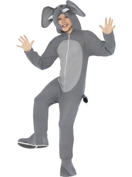 Déguisement enfant éléphant gris