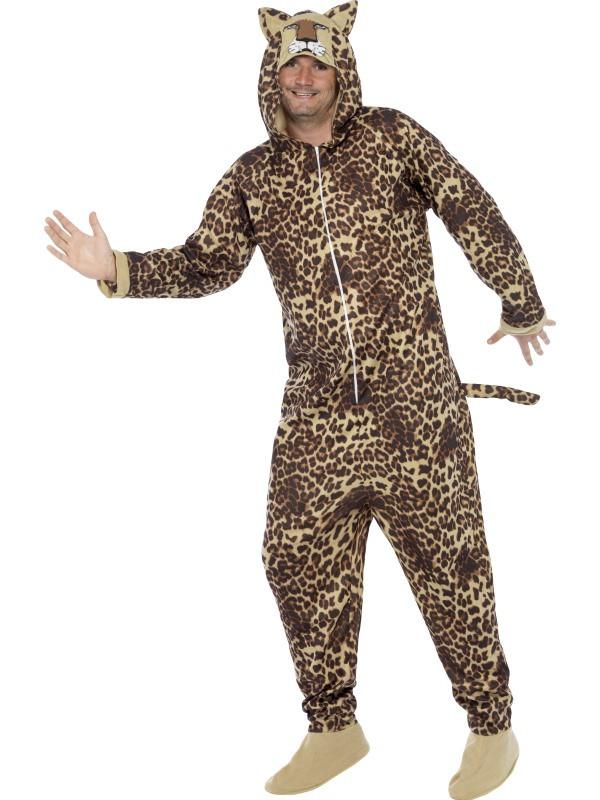 Déguisement adulte léopard