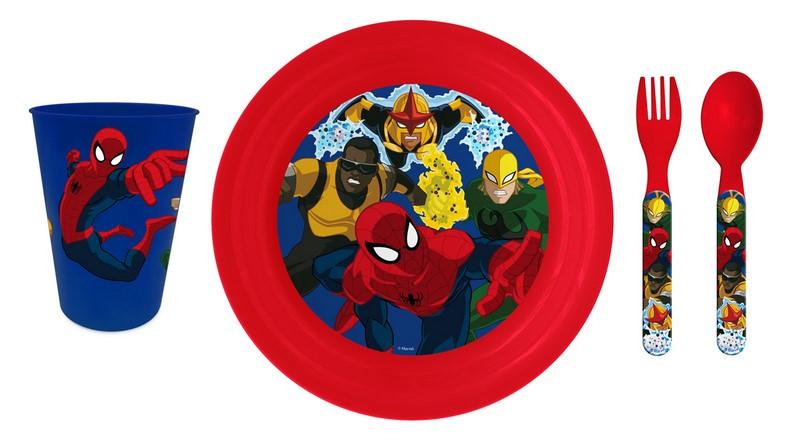Set dejeuner pique nique Spiderman