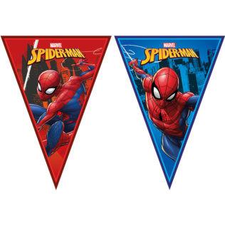 guirlande de fanions Spiderman