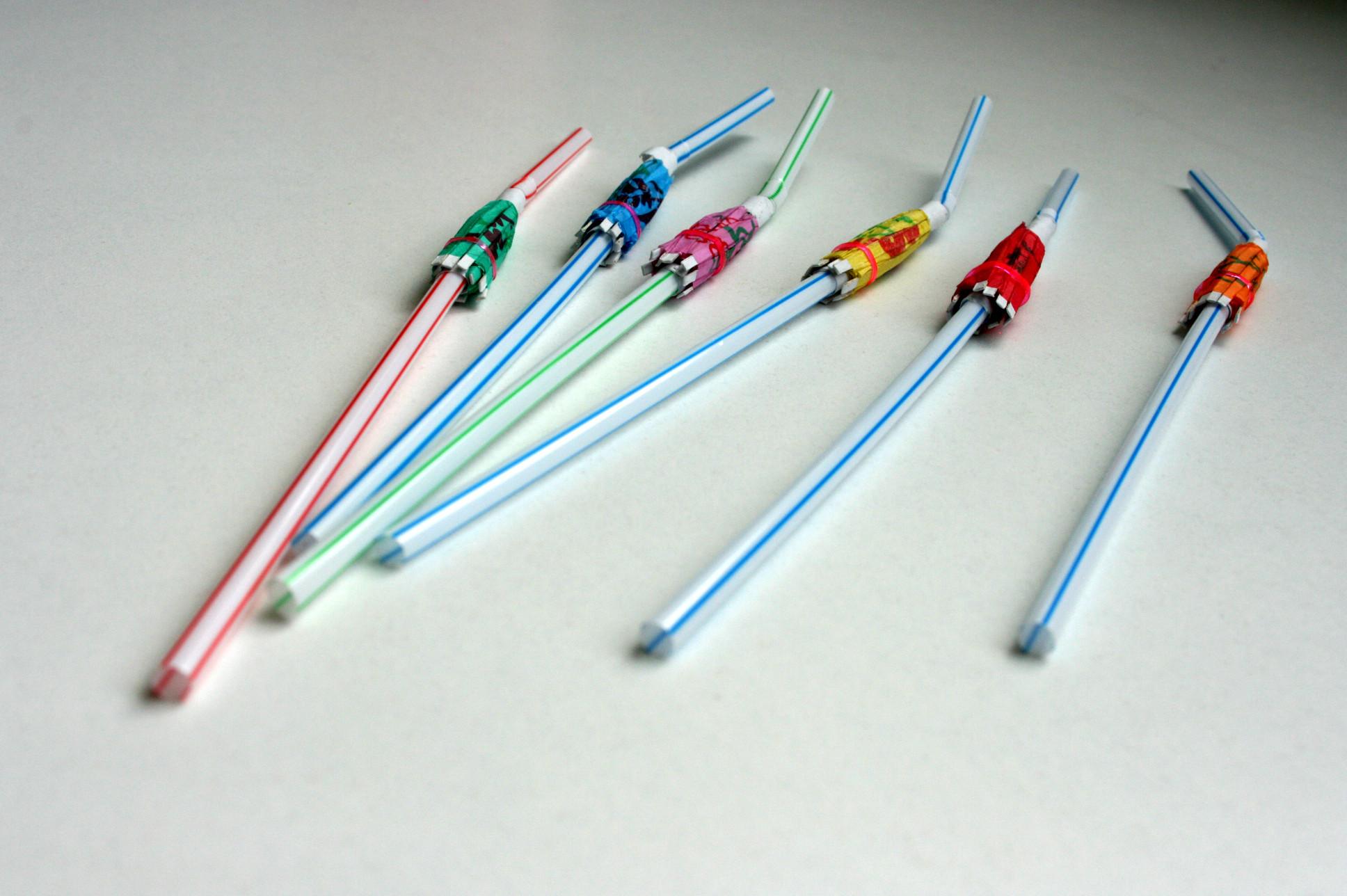 6 Pailles parasols - Tropical