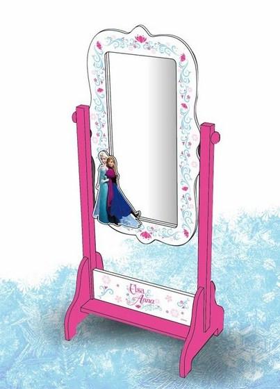 Miroir sur pied Reine des Neiges à prix spécial !