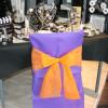 Housses de chaises x 10 - violet