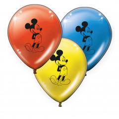 8 ballons anniversaire Mickey