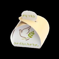 ballotin dragées communion colombe