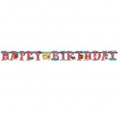 "Guirlande ""Happy Birthday"" - Pirates"