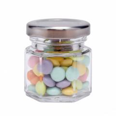 Mini pot à confiture en verre