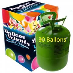 Bonbonne Helium 30 Ballons