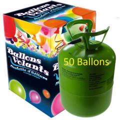 Bonbonne Helium 50 ballons