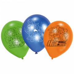 7 Ballons latex Tortues Ninja