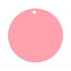 etiquette-ronde-rose