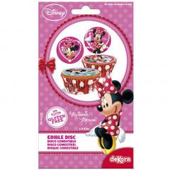 16 Disques à cupcakes Minnie