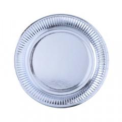 assiette-carton-argent