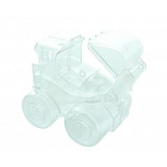 Contenant dragées tracteur