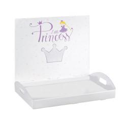 Plateau blanc princesse