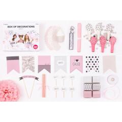 Pack anniversaire fille x 47 pc