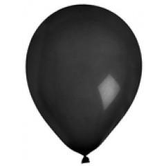 8 ballons latex noirs
