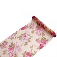 Chemin de table fleurs boudoir - 2