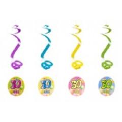4 suspensions spirales 30 ans
