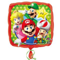 Ballon hélium Mario