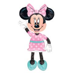 ballon hélium personnage Minnie