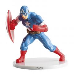 Figurine anniversaire Avengers - Captain America