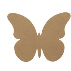 3 Papillons kraft décoratifs 1
