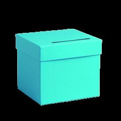 Urne baptême turquoise