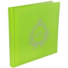 "Livre d'or ""Just married""  vert"