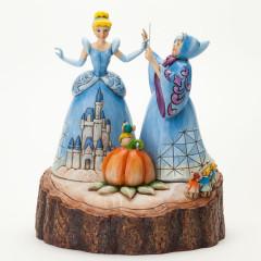 Figurine de collection Cendrillon et sa marraine