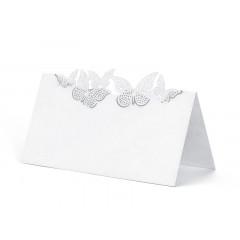 Marque-place-mariage-papillon
