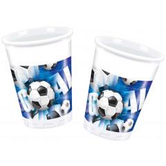 Gobelets - Blue Football - x10