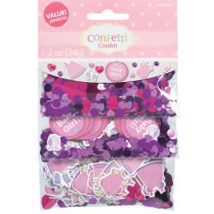 Confettis Baby Shower fille 34 g