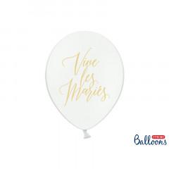 Ballons vive les mariés or x50