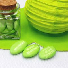 Dragées Personnalisées Vert
