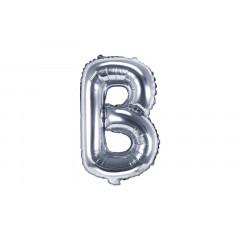 ballon-lettre-argent-b