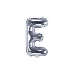 ballon-lettre-argent-e