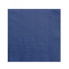 20-serviettes-papier-bleu-marine