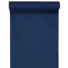 Chemin de table en jean bleu