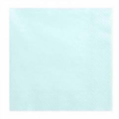 20-serviettes-papier-bleu-ciel