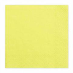 20-serviettes-papier-jaune