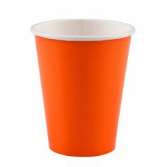 x8 Gobelets carton Orange