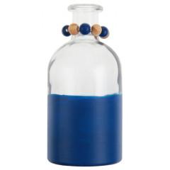 vase bicolore bleu