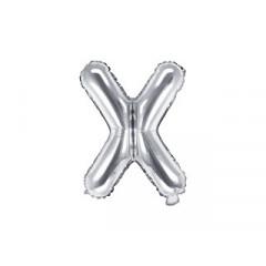 ballon-lettre-argent-x