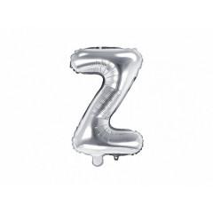 ballon-lettre-argent-z