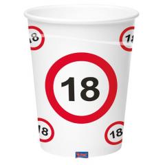 Gobelet 18 ans - Collection panneau - 350 ml