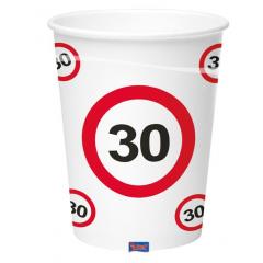 Gobelet 30 ans - Collection panneau - 350 ml