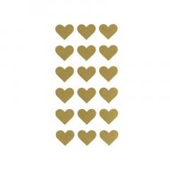 x24 Etiquettes Autocollantes Coeur